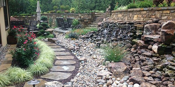 Doctor's Lawn Water Features